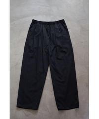 YOKO SAKAMOTO / 2 TUCK EASY PANTS / col.BLACK