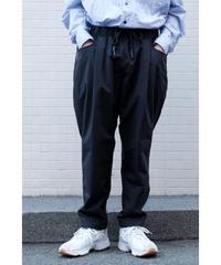 S.F.C  / TAPERED EASY PANTS NYLON / col.BLACK