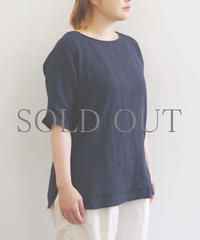 SETTO / ELBOW TUNIC / col.ネイビー