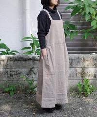 Vlas Blomme / KL Heritage Warm ジャンパースカート / col.サンドベージュ