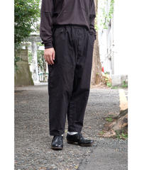 yoko sakamoto / WORK TAPERED TROUSERS / col.BLACK / size.L
