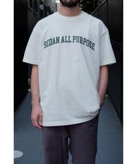 SEDAN ALL PURPOSE / Arch Logo S/S Tee / col.White