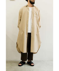 Blanc YM / S/W Royal Oxford Long Shirt / col.BEIGE / size.M
