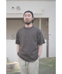 comm.arch. / MILAN RIB SELVEGE S/S  / col.MUD CLAY