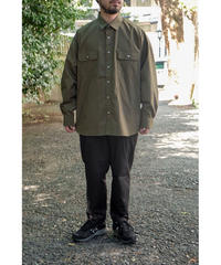 S.F.C -Stripes For Creative / SFC SHIRT / col.OLIVE