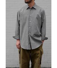 un/unbient / レギュラーカラーシャツ / col.gingham check