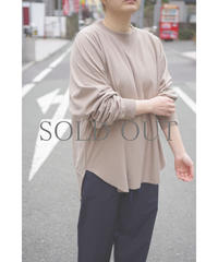 bunt / COMFY CREW NECK SWEAT / col.BEIGE / Lady's