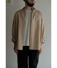 Blanc YM / S/W Royal Oxford Shirt / col.BEIGE