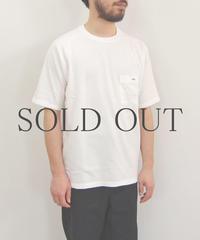 THE HINOKI / オーガニックコットン「THE 」バンドポケットTシャツ / col.ホワイト