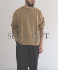 bunt / REVERSE SWEAT SHIRTS /  col.ブラウン / Men's