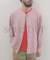 bunt / STRIPE CARDIGAN JACKET / col.レッド / size 2
