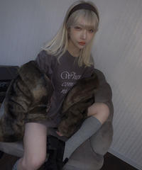 【cult select】Fur jacket (CTK0133)