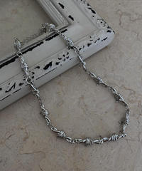 【cult original】Barbed wire necklace (CTS0085)