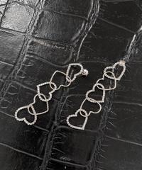 【cult select】Heart connect pierces(CTK0152)
