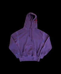 DOPE RAT'S FLUORESCENCE DYEING  Hoodie