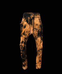 CTLS   BLACK x BLEACHED X BLACK  usual sweat pants