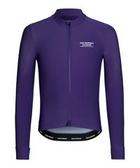 LONG SLEEVE JERSEY - PURPLE 2021<サイズ交換対応>