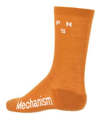CONTROL MERINO SOCKS - ORANGE