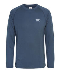 OFF RACE LONG SLEEVE BASE LAYER - NAVY