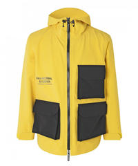 OFF RACE SHIELD JACKET - YELLOW