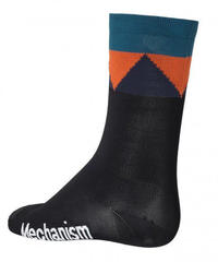 ZIGZAG SOCK - BLACK 2018