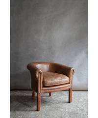 09-DS212098-1 Vintage leather lounge chair