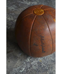 09-DS212007 LEATHER MEDICINE BALL