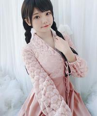 【d.Alice】韓服ロングワンピース