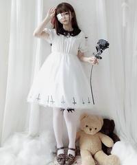 【d.Alice】六芒星 病みかわ 白ワンピース