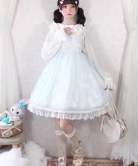 【d.Alice】レースホワイトワンピース 1015