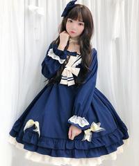 【d.Alice】ネイビーマリンワンピース