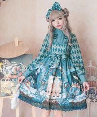 【d.Alice】アーガイル柄 ワンピース 1067