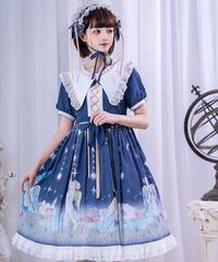 【d.Alice】エンジェルフリルワンピース(半袖) 1027