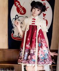 【d.Alice】チャイナ風ワンピース 1001