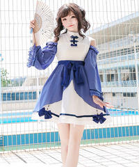 【d.Alice】オープンショルダーワンピース 1013