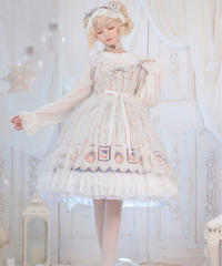 【d.Alice】オフホワイトドレス