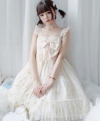 【d.Alice】ホワイトルナワンピース