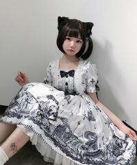 【d.Alice】ホワイトトゥームワンピース