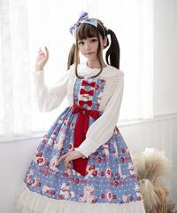 【d.Alice】いちごくまちゃんワンピース 1081