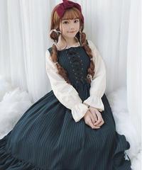 【d.Alice】ロータスリーフワンピース 1085