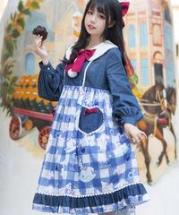 【d.Alice】夢ひつじワンピース