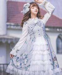 【d.Alice】うさぎフローラルワンピース 1024