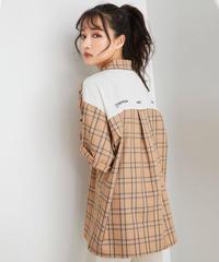 【UNISEX】チェックハイショクカイキンシャツ AG201SH0304