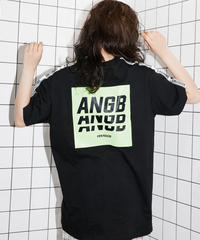 【UNISEX】バックプリントラインT AG192CS26
