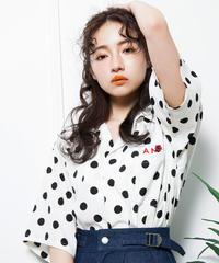 【UNISEX】ドットカイキンシャツ AG192SH09