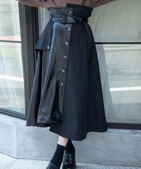 フェイクレザードッキングスカート AG204SK1002