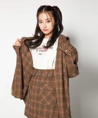 オーバーサイズチェックシャツ AG194SH07