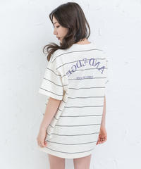 【UNISEX】ボーダーロゴTシャツ AG202CS0635