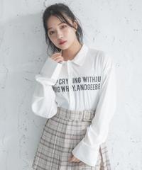 【UNISEX】ロゴプリントシャツ AG201SH0203