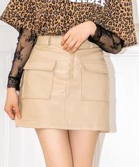 フェイクレザースカート AG191SK10